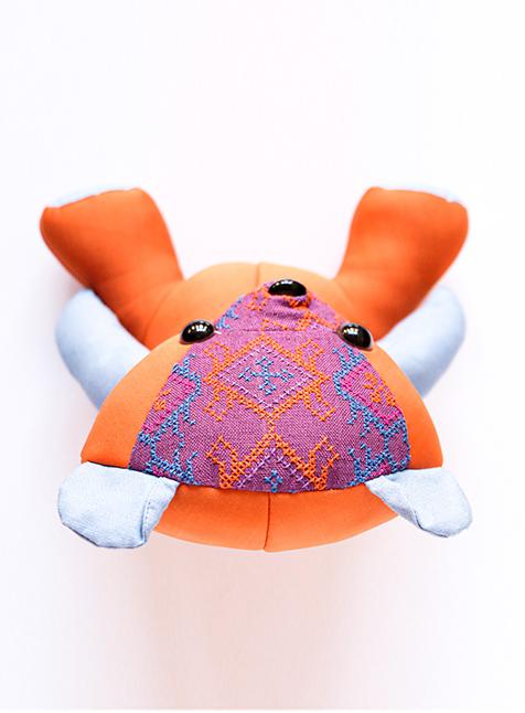 Bear, Orange-3