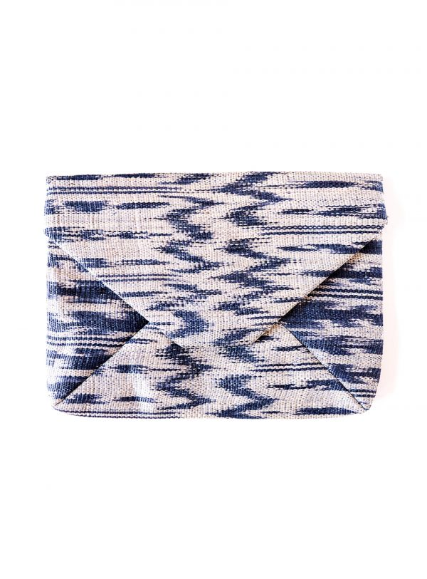 Gimik Abaca Clutch in Blue-1