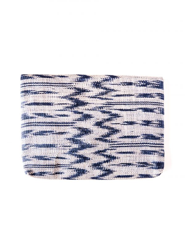 Gimik Abaca Clutch in Blue-2