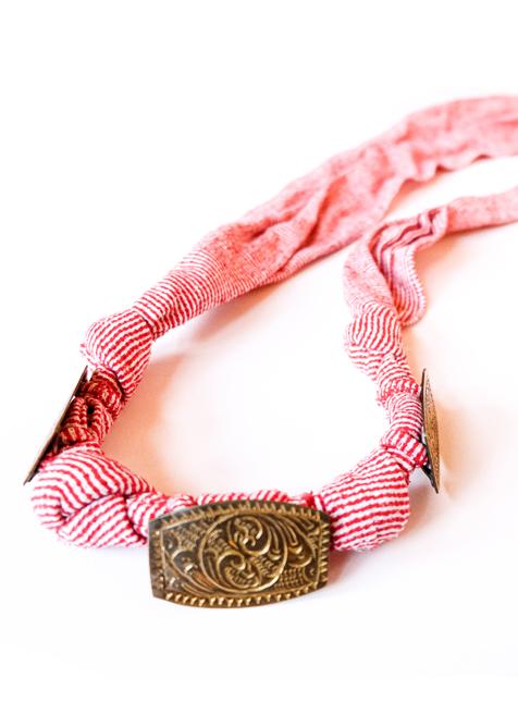 Maranao Belt 3 (Red)