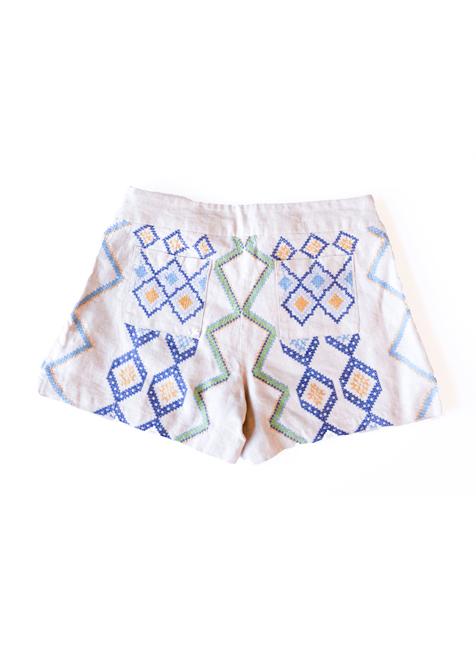 Ylang Ylang Shorts Beige-2